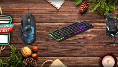 Photo of Guide d'achat de Noël 2018 : notre sélection d'accessoires gaming PC