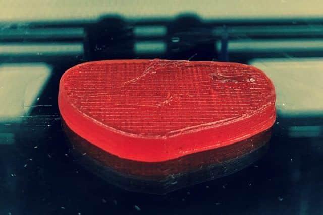 Steak végétal imprimé en 3D