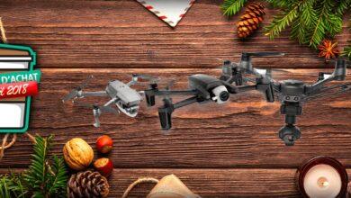Photo of Guide d'achat de Noël 2018 : notre sélection de drones