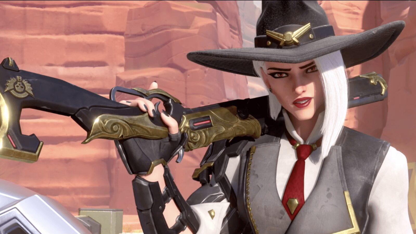 Ashe, nouvelle héroïne dans Overwatch