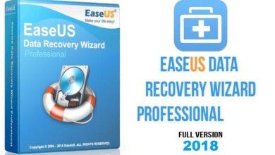 Photo of EaseUS Data Recovery Wizard Professional – Sauvez vos données perdues