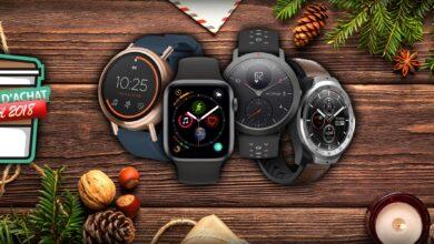 Photo of Guide d'achat de Noël 2018 : notre sélection de montres connectées
