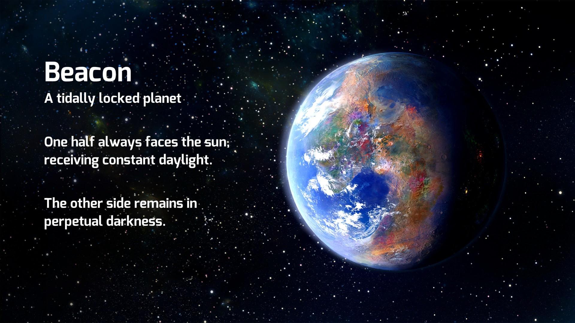 La planète Beacon