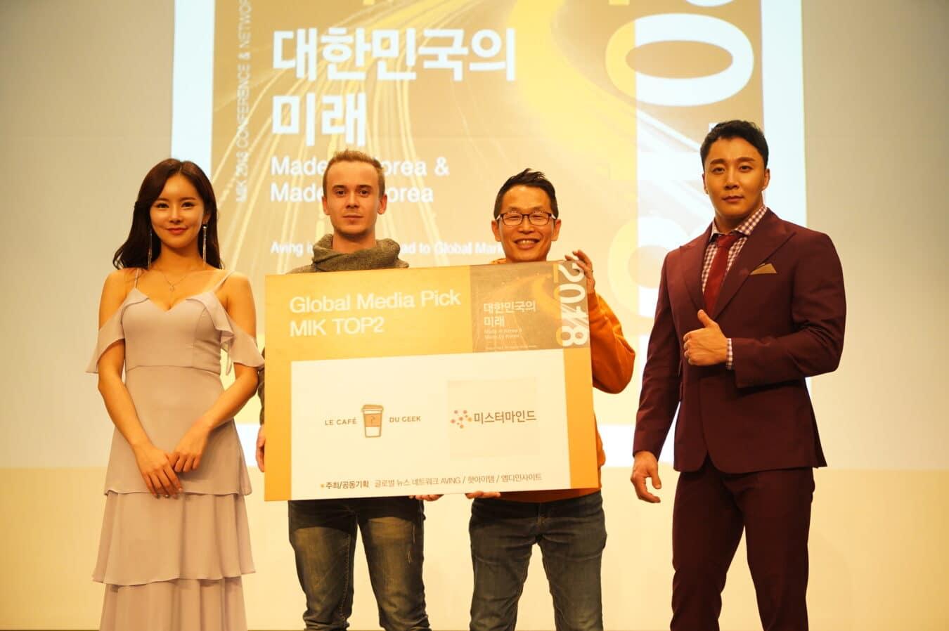 Photo of MIK 2 – Le Café Du Geek à nouveau à la rencontre des startups Coréennes !