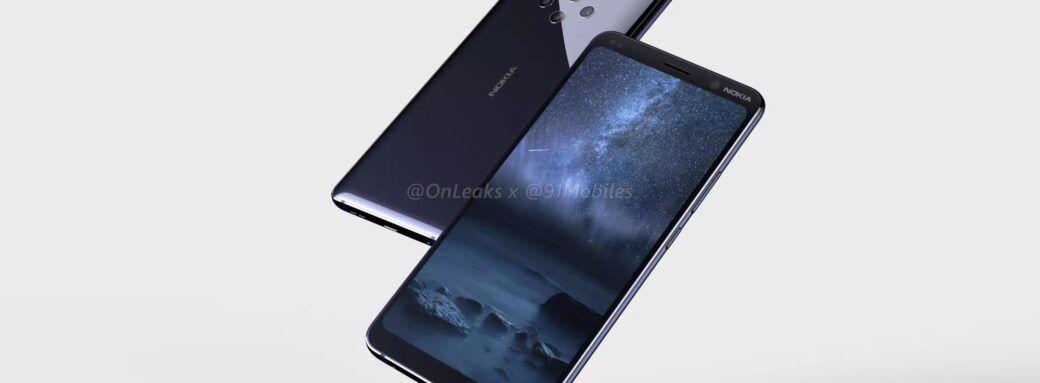 Fuite rendu 3D Nokia 9 Pureview