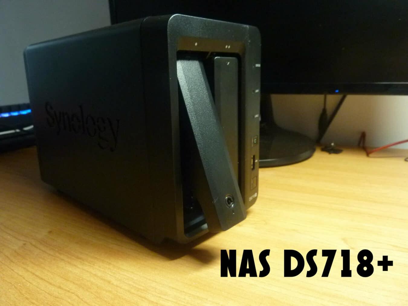 Photo de Test – NAS Synology DS718+ :  le NAS multimédia parfait ?