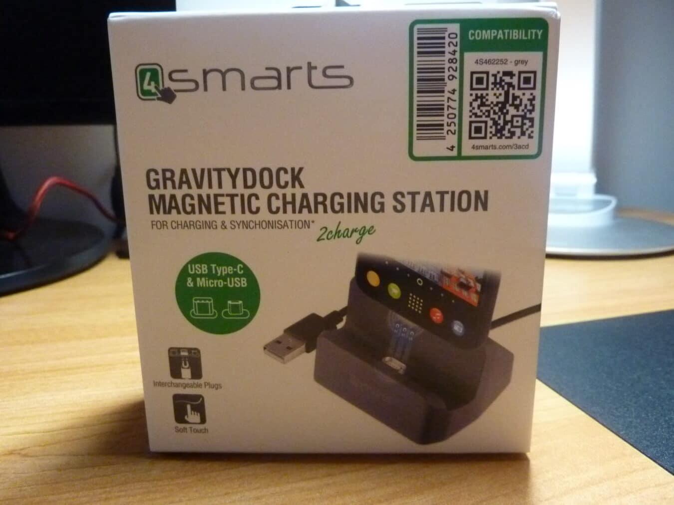 Photo de Test – 4smarts Gravity Dock : une station d'accueil esthétique