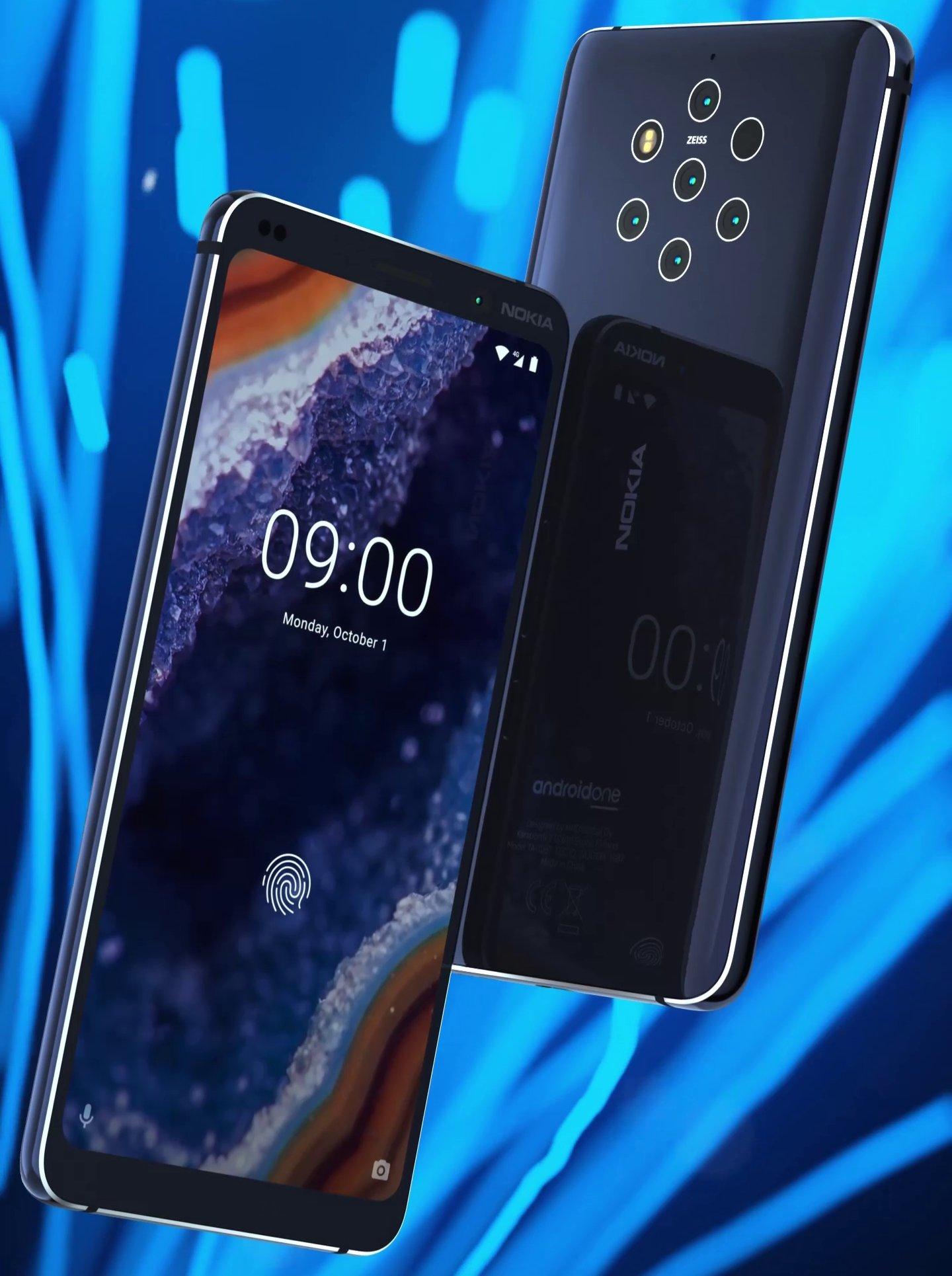 Aperçu sur le prochain Nokia 9 Pureview.