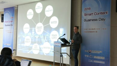 Photo of Smart Contents Center Biz Day – Des startups Coréennes et Le Café du Geek comme speaker