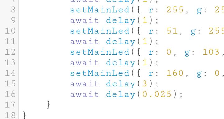Sphero Edu-Code JavaScript