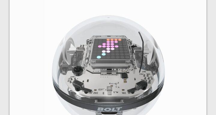 Sphero Edu-Modèle 3D du Bolt-part1