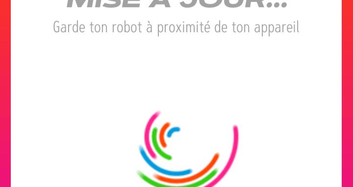 Sphero Play-Mise à jour du robot