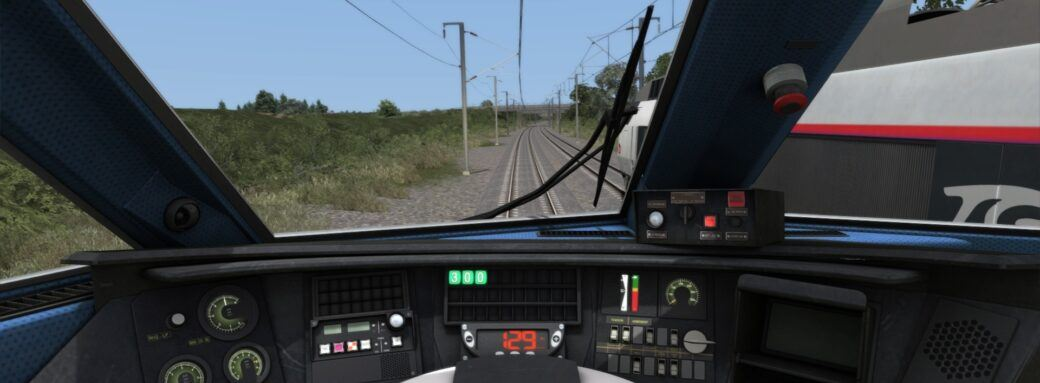 Train Simulator 2019-Dans la cabine