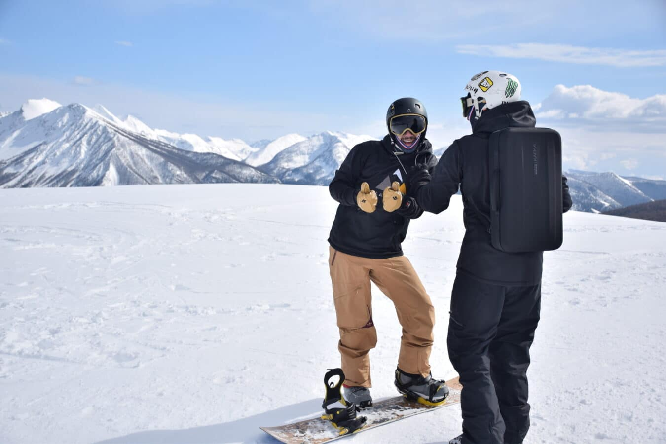 Photo de #CES2019 – Black Line QuickSett : un dispositif connecté pour les planches de Snowboard