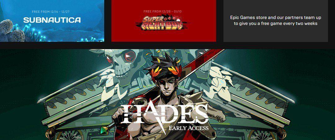 L'Epic Game Store vous offre des jeux
