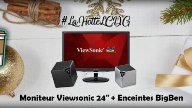 Photo of #LaHotteLCDG – Jour 13 : 2 enceintes BigBen + Moniteur Viewsonic 24″