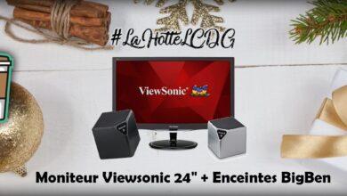 Photo de #LaHotteLCDG – Jour 13 : 2 enceintes BigBen + Moniteur Viewsonic 24″