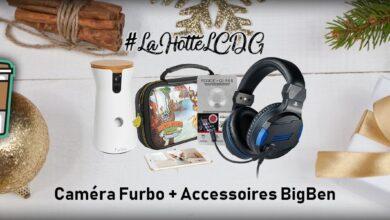 Photo de #LaHotteLCDG – Jour 17 : Caméra Furbo + Accessoires BigBen