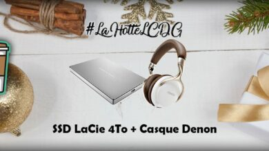 Photo de #LaHotteLCDG – Jour 18 : SSD LaCie 4To + Casque Denon AH-D1200