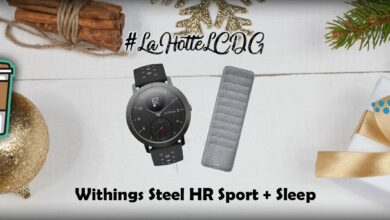 Photo de #LaHotteLCDG – Jour 16 : Withings Steel HR Sport + Sleep