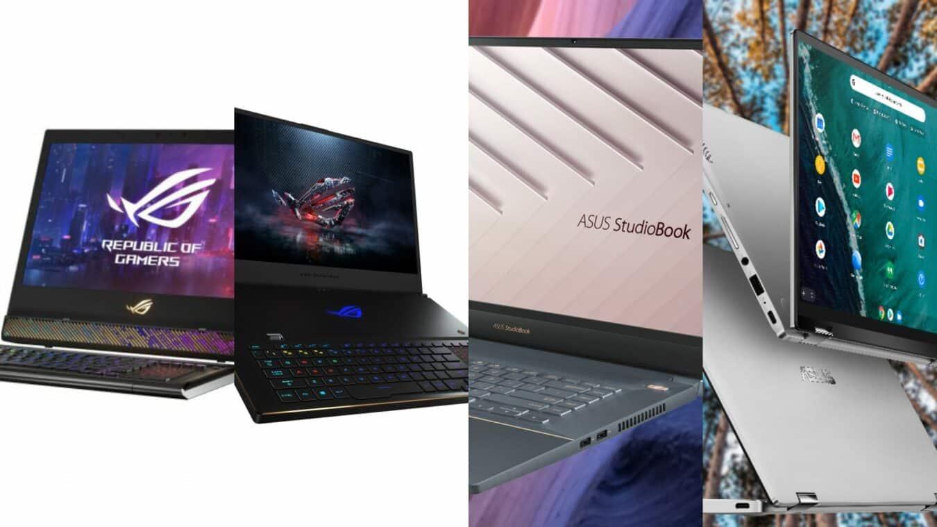 Photo de #CES2019 : Asus présente 4 ordinateurs portables !