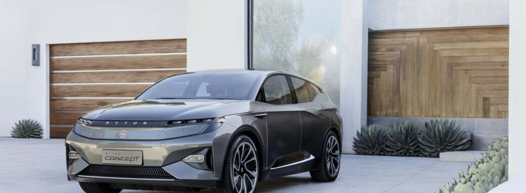 BYTON M-Byte Concept 4 CES 2019