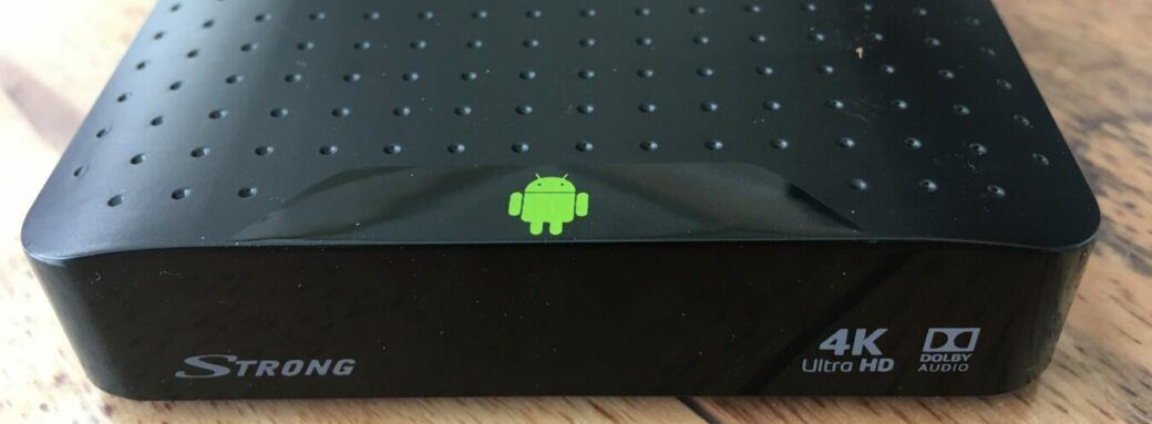Box TV android Strong SRT 2023