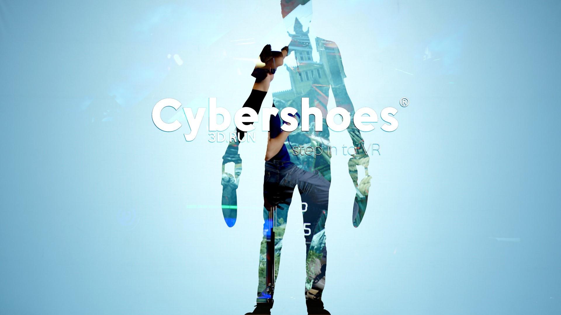 Cybershoes Réalité Virtuelle CES