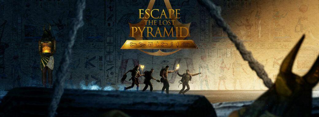 escape the lost pyramid - Escape room en Réalité Virtuelle de Ubisoft