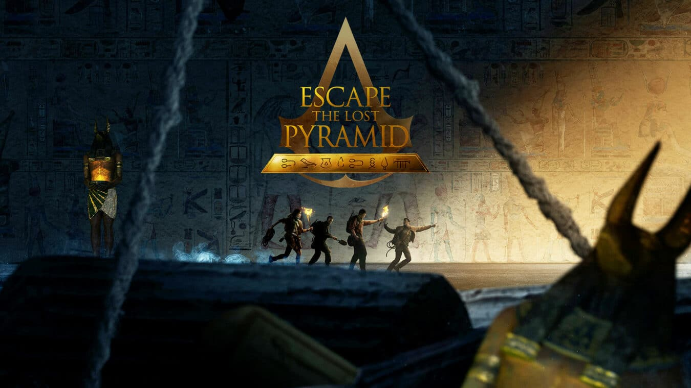 escape the lost pyramid - Escape room en Réalité Virtuelle de Ubisoft