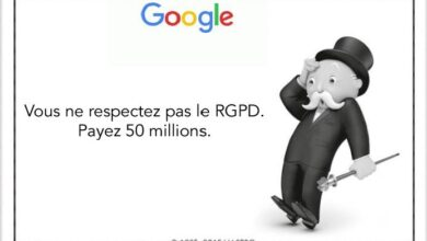 Photo of Les raisons de la condamnation de Google à payer 50 millions d'euros à la CNIL