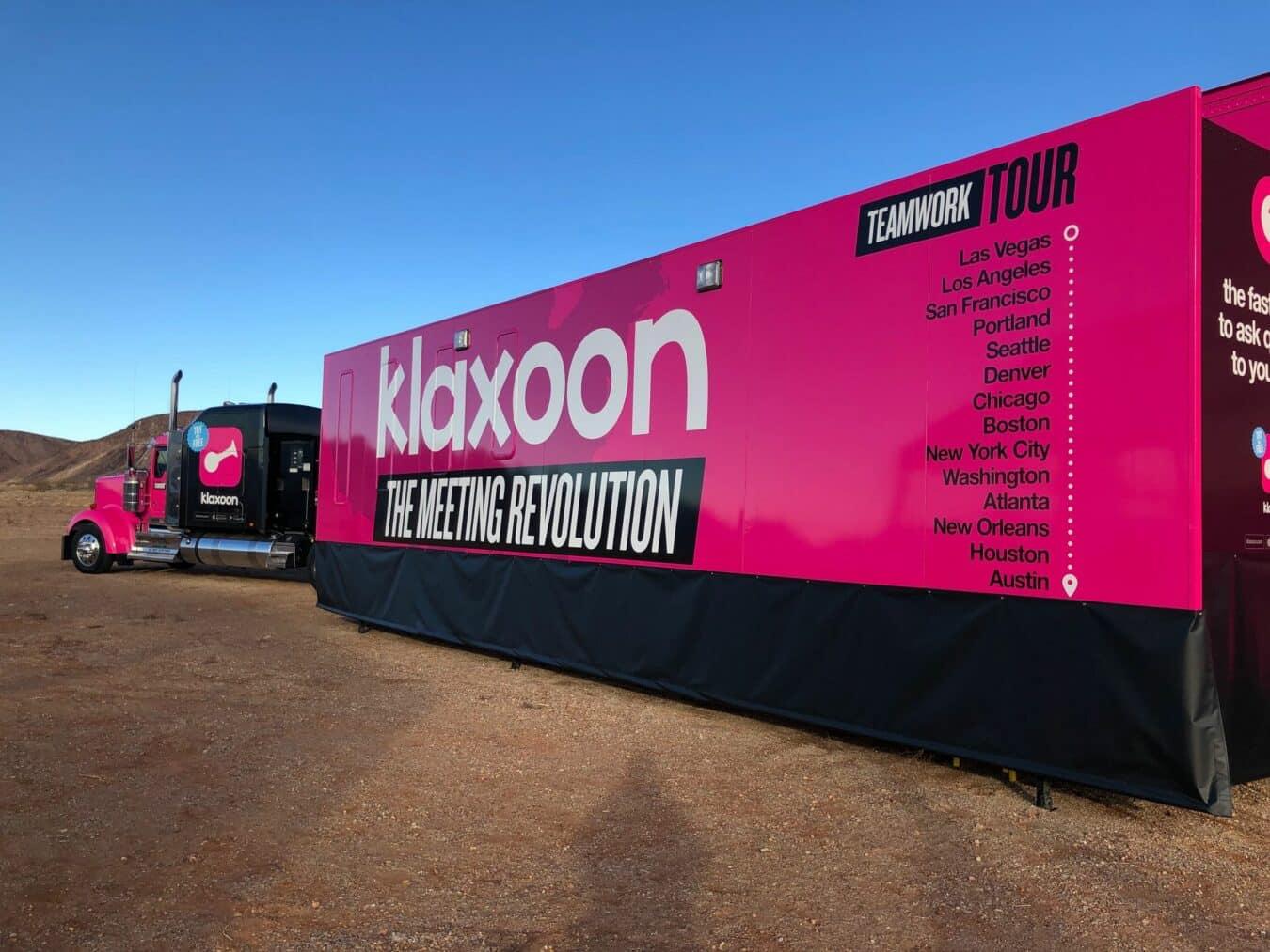 Klaxoon 3 - CES 2019 - Teamwork Tour truck