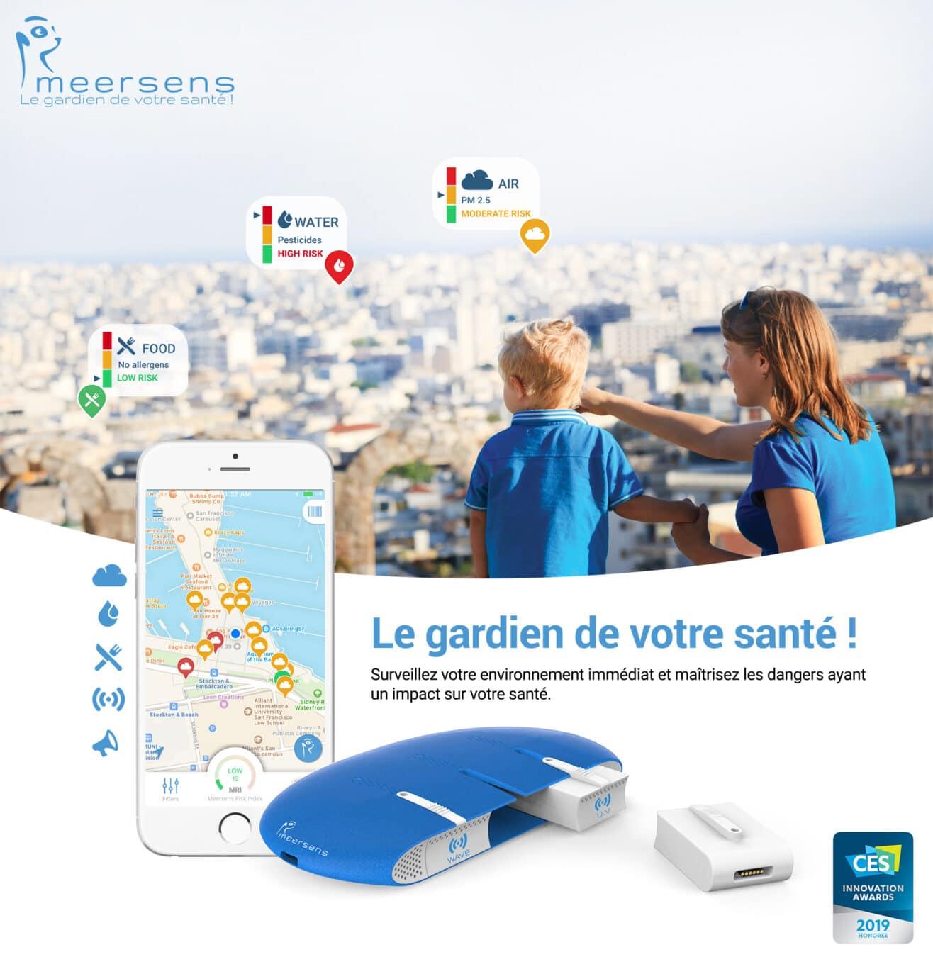 Photo de Meersens, l'application française qui prend soin de votre santé !