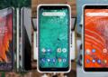 3 smartphones de la marque.