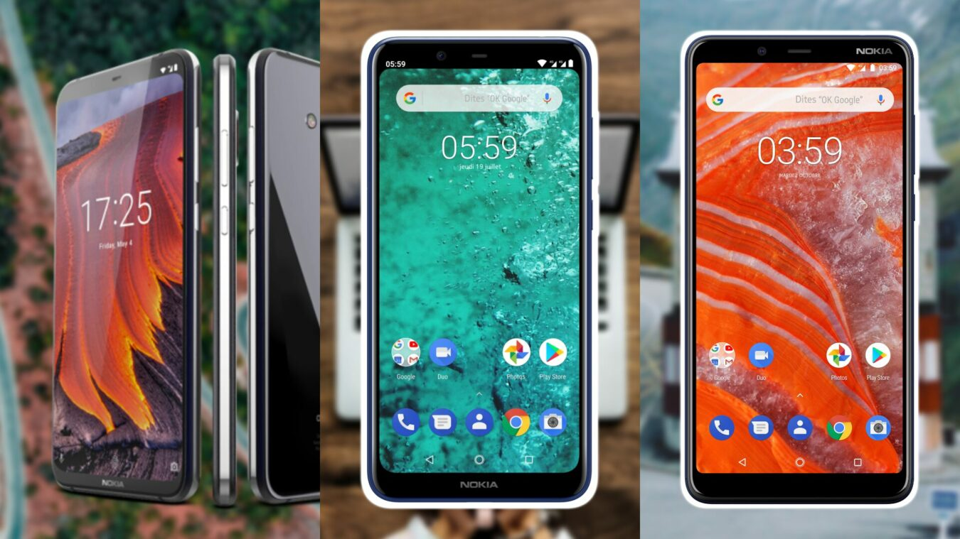Photo de Les Nokia 8.1, 5.1 Plus et 3.1 Plus arrivent en France !