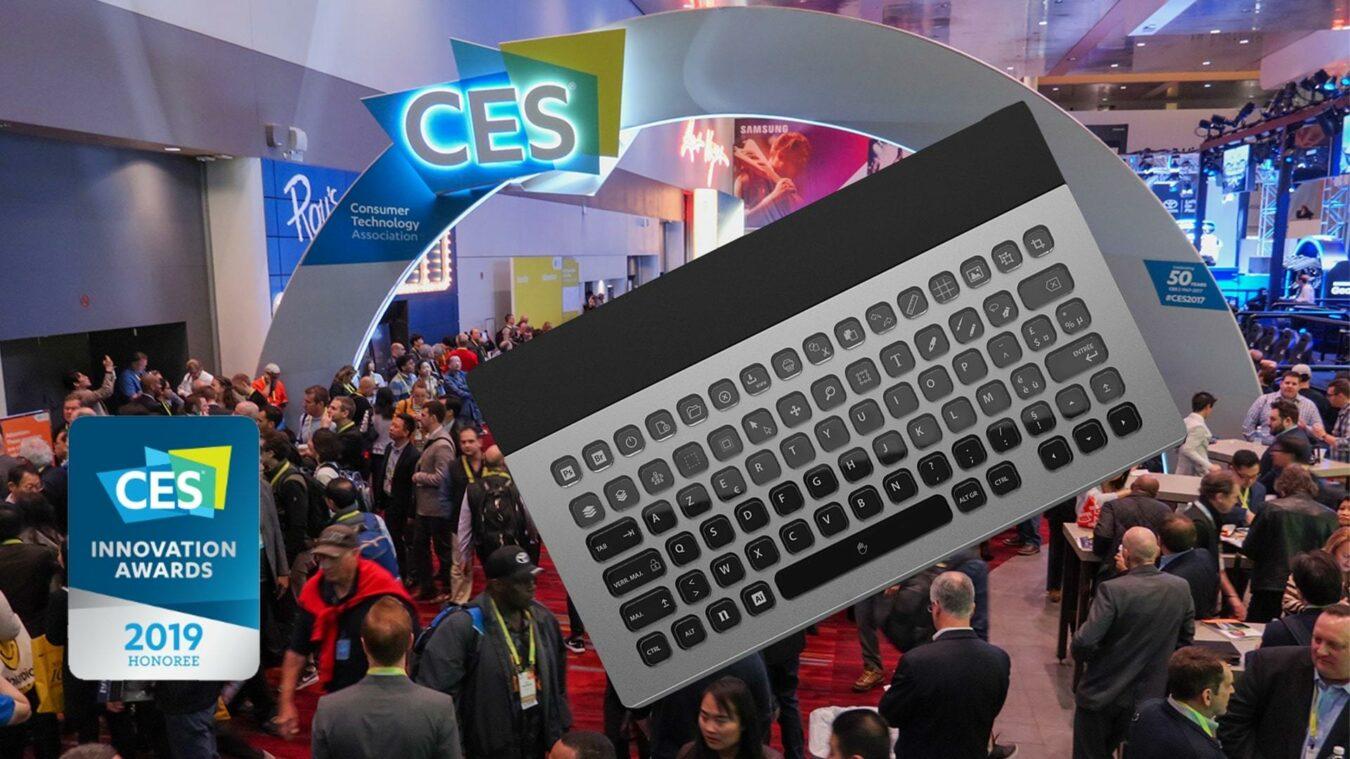 Photo de #CES2019 : LDLC lance son clavier 100% personnalisable