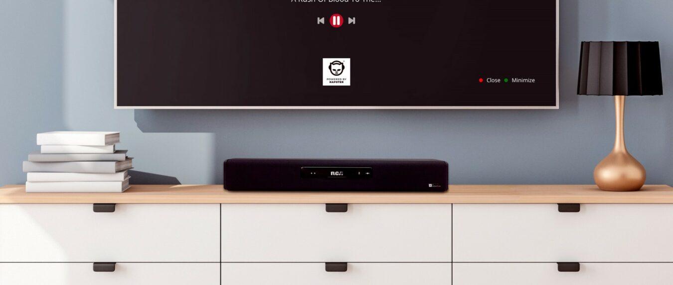 Photo de #CES2019 – Voxtok et Napster révolutionnent la musique avec la Smart Soundbar RCA