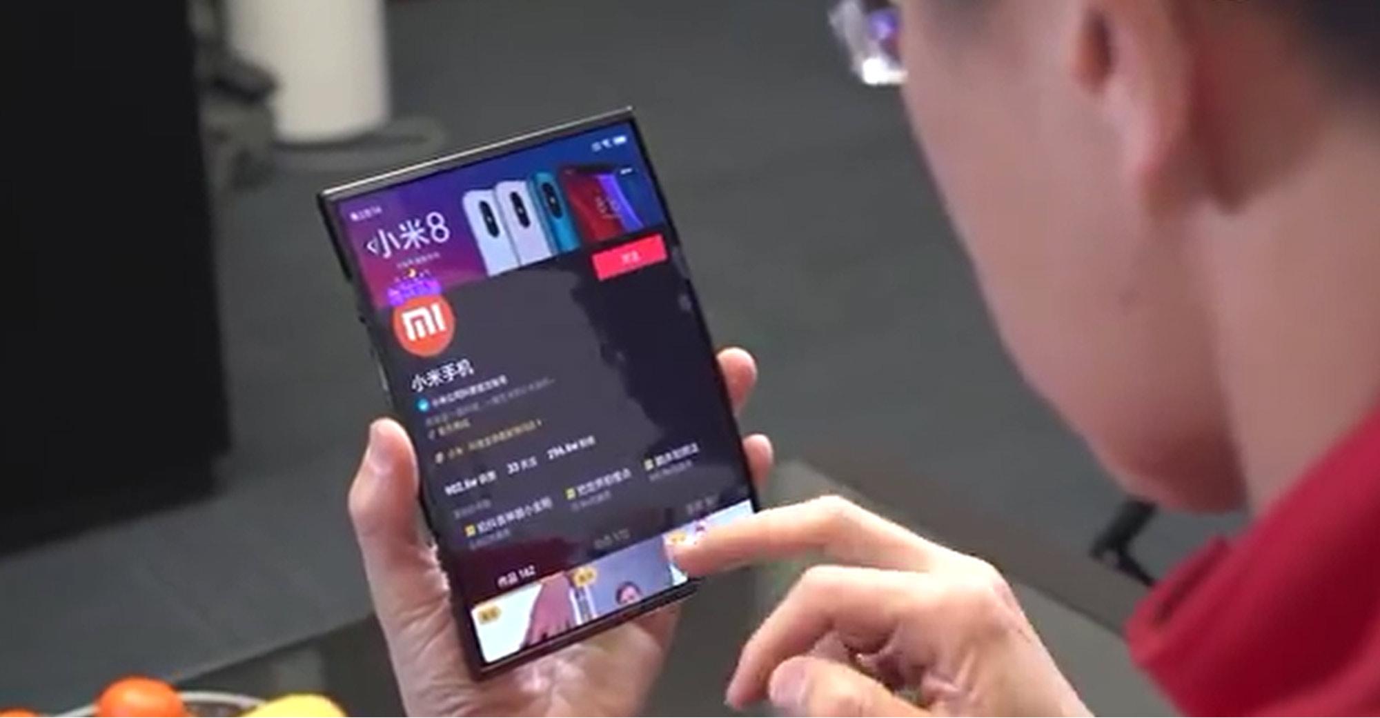 smartphone pliable xiaomi MIX Flex