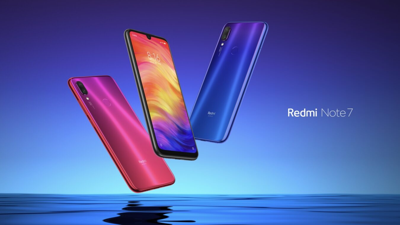 Miniature Redmi Note 7