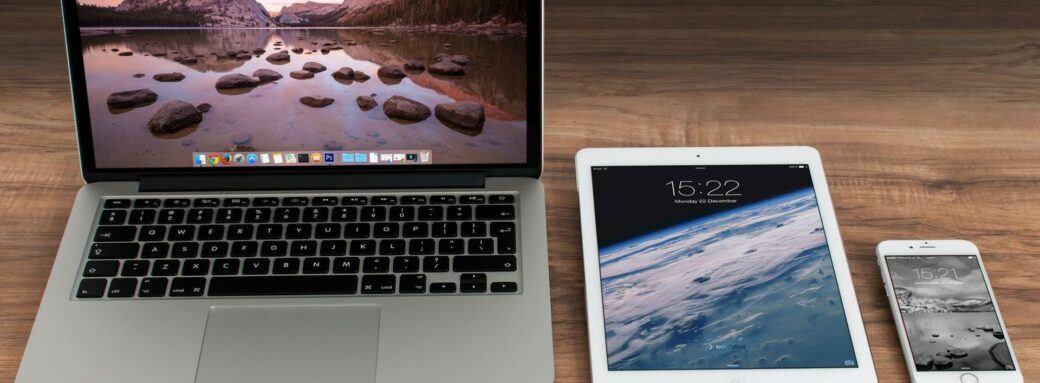 Image de Macbook, iPad et iPhone
