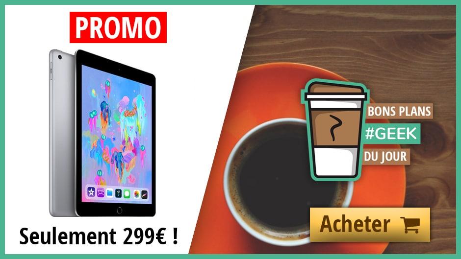 Bon Plan iPad 2018