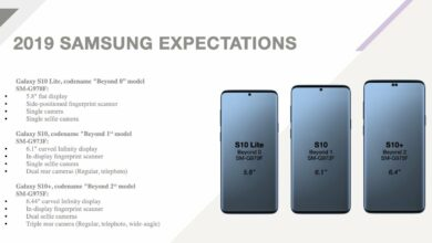 Photo de Samsung sans voix suite aux fuites du Galaxy S10 !