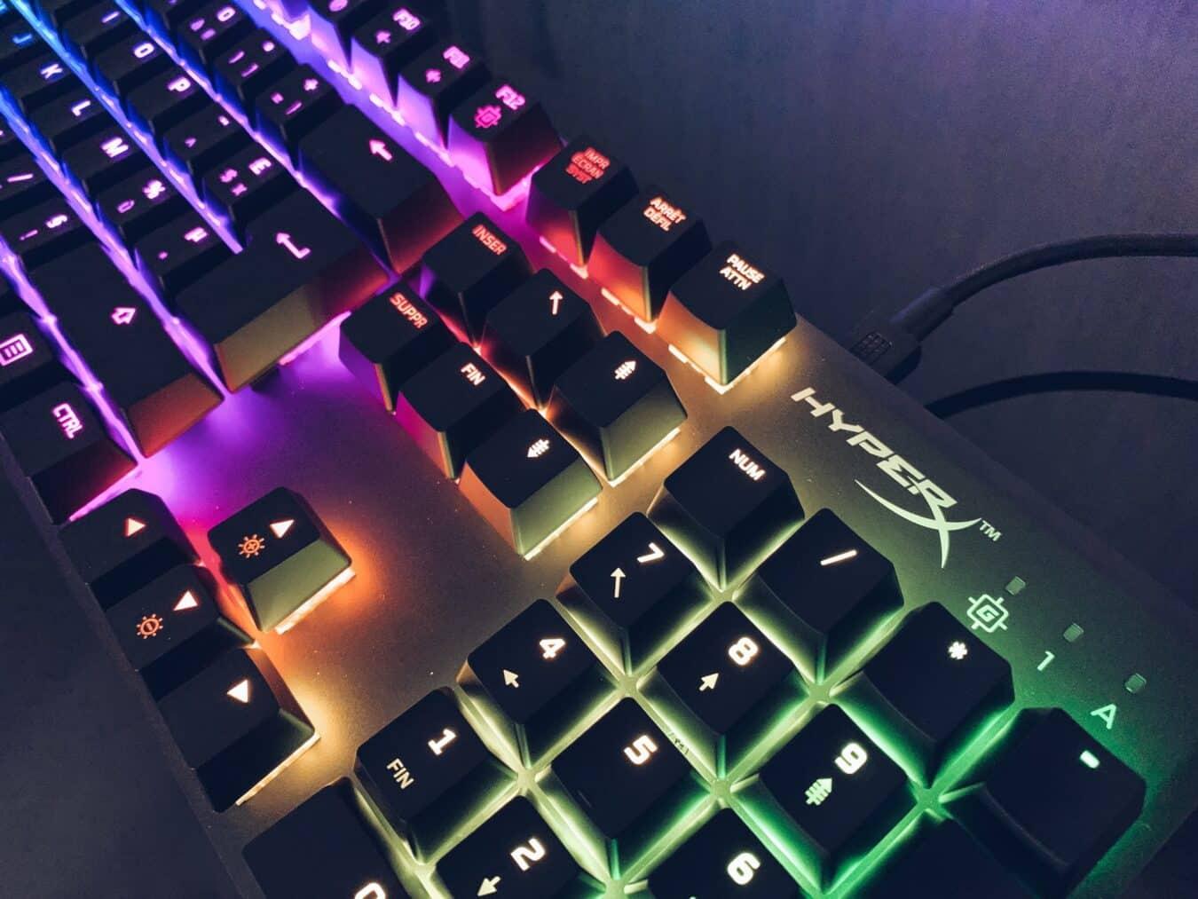 Photo de Test – HyperX Alloy FPS RGB : Le clavier petit mais puissant