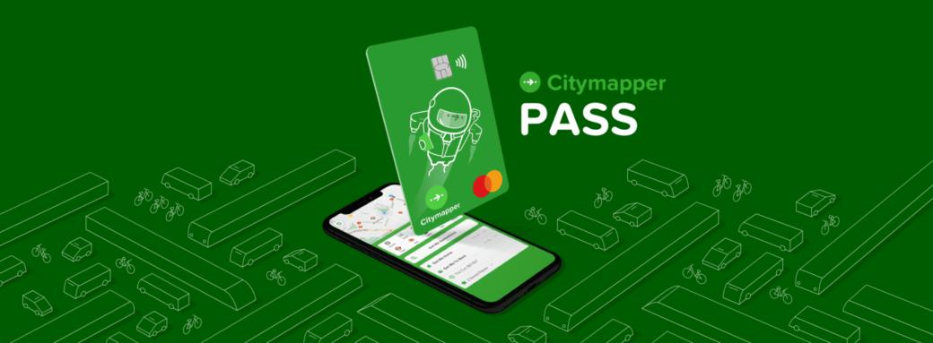 Présentation carte de transport Citymapper