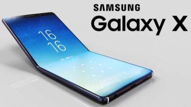 Photo de Samsung: le smartphone pliable et des objets futuristes en vidéo