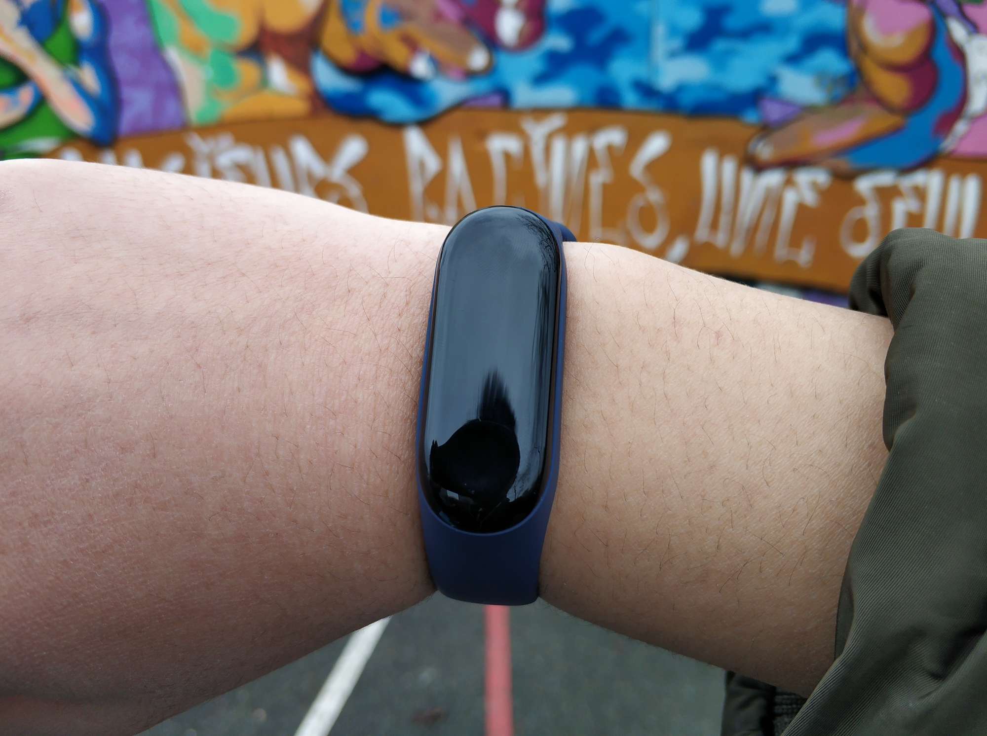 Xiaomi Mi Band 3 sur un poignet