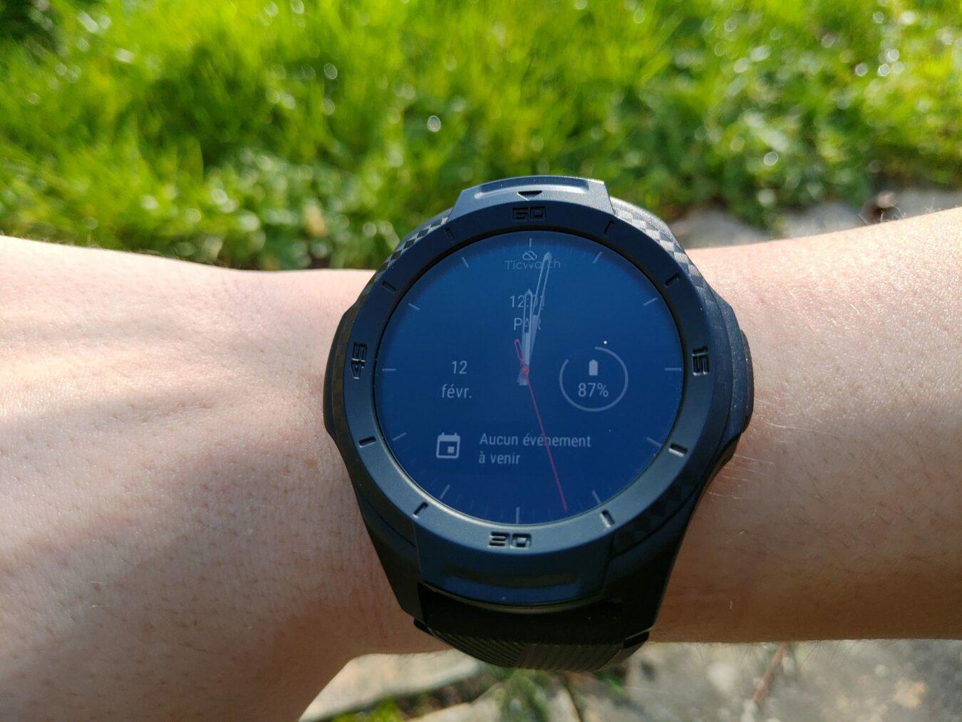 Photo de Test – Ticwatch S2 : Une montre polyvalente taillée pour le sport