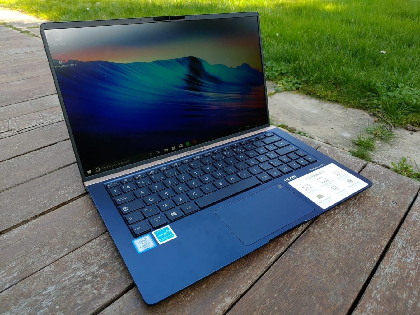 Photo de Test – Asus Zenbook 13 : Proche de l'excellence
