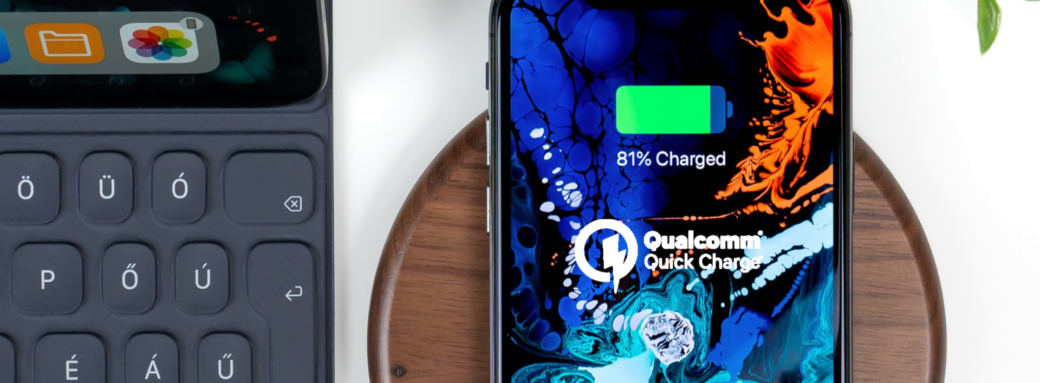 Quickcharge iPhone Qi