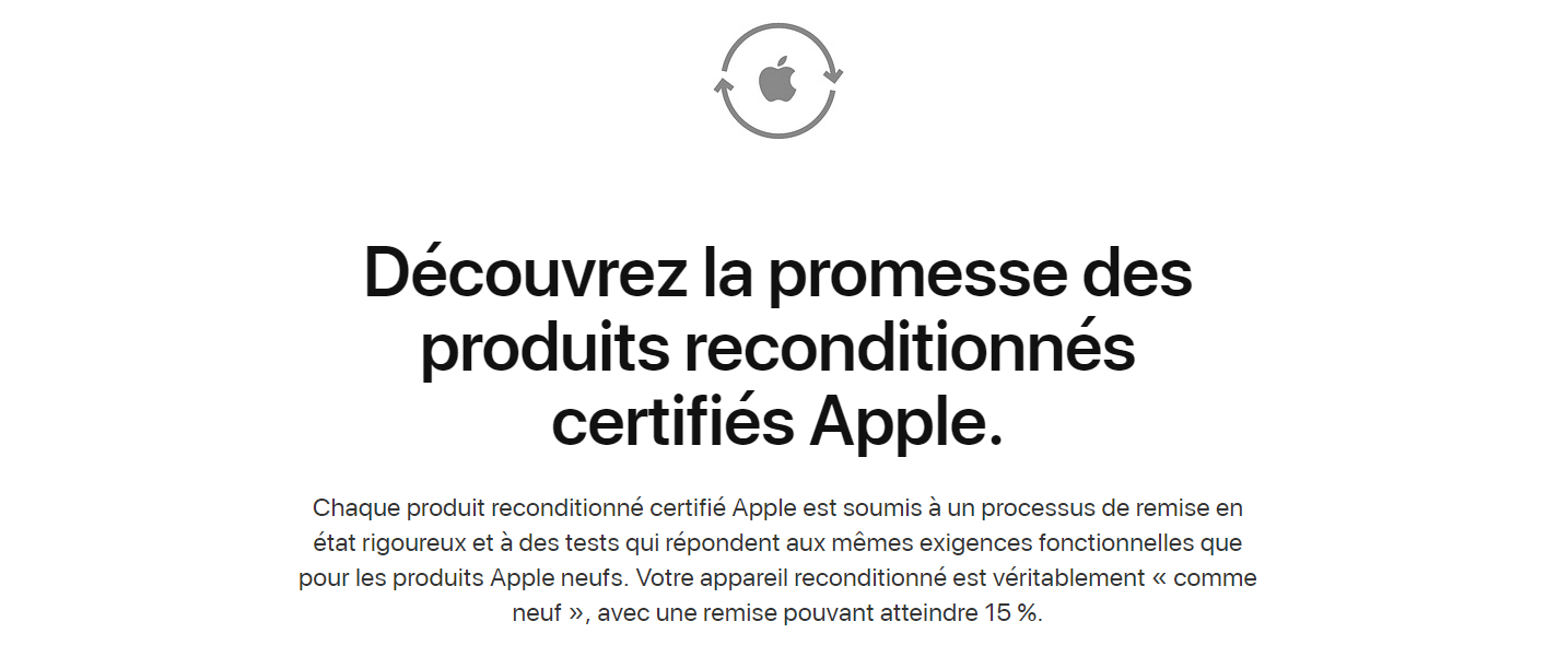 Site Apple Refurb